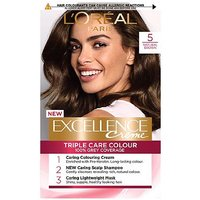 LOreal Paris Excellence Crme Permanent Hair Dye 5 Natural Brown