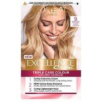 LOreal Paris Excellence Crme Permanent Hair Dye 9 Natural Light Blonde