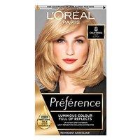 LOreal Preference Infinia 8 California Natural Mid Blonde Hair Dye