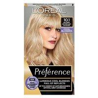LOreal Preference Infinia 10.1 Helsinki Very Light Ash Blonde Hair Dye