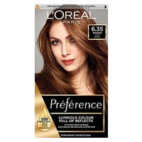 LOreal Preference Infinia 6.35 Havana Golden Mahogany Light Brown Hair Dye