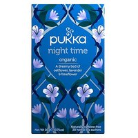 Pukka Organic Night Time 20 Herbal Tea Sachets 20g