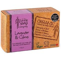 Little Soap Company Organic English Lavender and Citrus 110g