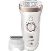 Braun Silk-pil 9 9561 Wet and Dry Cordless Epilator, 6 attachments