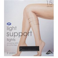 Boots Light Support Tights Black