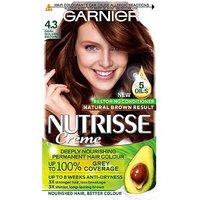 Garnier Nutrisse Crme Permanent Hair Colour 4.3 Cappuccino