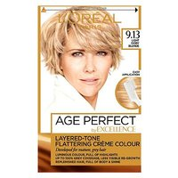 LOreal Excellence Age Perfect 9.13 Light Ivory Blonde Hair Dye