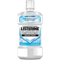 Listerine Advanced White Mouthwash   500ml