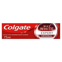 Colgate Max White Expert Pearl Mint Whitening Toothpaste 75ml