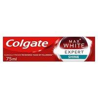 Colgate Max White Expert Glossy Mint Whitening Toothpaste 75ml