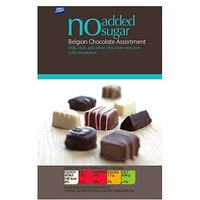 Boots No Added Sugar Belgian Chocolate Assortment