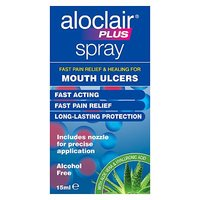 Aloclair Plus Mouth Ulcer Spray 15ml