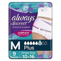 Always Discreet Underwear Incontinence Pants Plus M 9