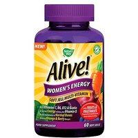 Nature's Way Alive! Women's Energy - 60 Soft Jells