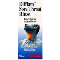Image of Difflam Sore Throat Rinse 200ml