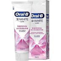 Oral B 3D White Luxe Whitening Accelerator   75ml