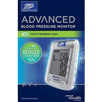 Boots Pharmaceuticals Advanced Blood Pressure Monitor With Atrial Fibrillation Alert