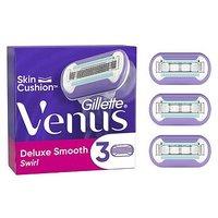 'Venus Deluxe Smooth Swirl Razor Blades, 3 Pack