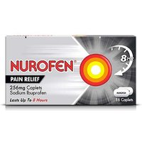 Nurofen Joint and Back Pain Relief 256mg Caplets