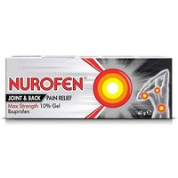 Nurofen Joint and Back Pain Relief Max Strength 10% gel - 40g