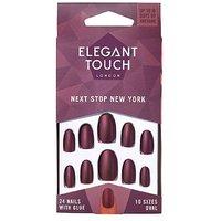 Elegant Touch Polish Nails - Next Stop New York