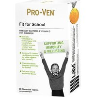 Pro Ven Fit for School Chewable Tablets   30 tablets