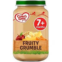 Cow and Gate Fruity Crumble Jar 200g