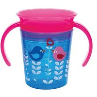 Munchkin 6oz Miracle 360 Deco Trainer Cup Blue Bird