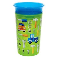 Munchkin 9oz Miracle 360 Deco Sippy Cup Green Car