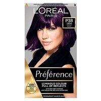Preference P38 Violet Vendetta Dark Purple Permanent Hair Dye