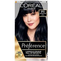 Preference P11 Deeply Wicked Black Permanent Hair Dye