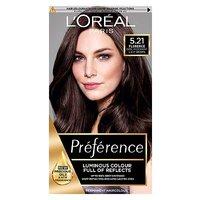 Preference 5.21 Sofia Cool Light Brown Permanent Hair Dye