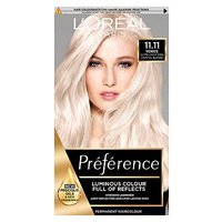 Preference 11.11 Ultra Light Crystal Blonde Permanent Hair Dye