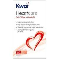 Kwai Heart Care Garlic 300mg plus Vitamin B1 30 Tablets