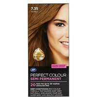 Boots Perfect Colour 7.35 Honey Hair Dye - Semi Permanent