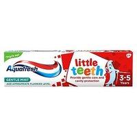Aquafresh Little Teeth Fluoride Toothpaste 3-5 Years 75ml