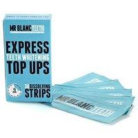 Mr Blanc Express Dissolving Whitening Strips 30 s