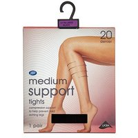 Boots Mediumsuport Tights Blk Not In Use