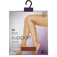Boots Firm Support Tights Nat Tan