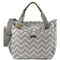 BabaBing! Roma Changing Bag - Grey Chevron