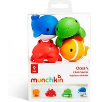 Munchkin Ocean bath toys set - 4 Pack