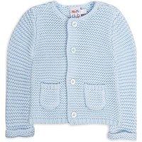 Mini club blue knitted cardigan