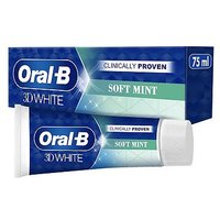 Oral B 3D White Soft Mint Toothpaste 75ml