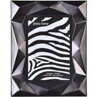 Black geometric photo frame 5x7
