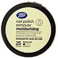 Boots Moisturising Nail Polish Remover Pads 25