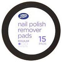 'Boots Nail Polish Remover Pads 15
