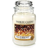Yankee Candle Classic All is Bright large jar