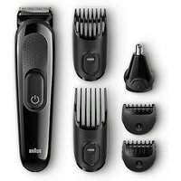 Braun Multi Grooming Kit Mgk3020 6-in-1 Precision Trimmer For Beard And Hair Styling