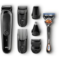 Braun Multi Grooming Kit Mgk3060 8-in-1 Precision Trimmer For Beard And Hair Styling