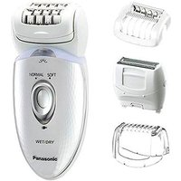 Panasonic Es-ed53 4-in-1 Wet & Dry Epilator With 4 Attachments